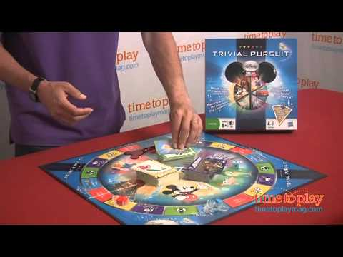 trivial pursuit disney edition instructions