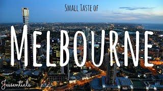 Small Taste of Melbourne VLOG // JESSENTIALS