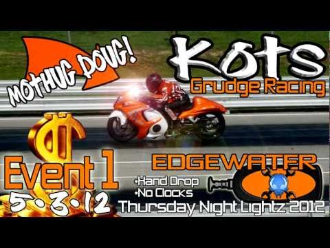 1st Thursday Night Lightz: Mothug Doug KOTS 2012 motorcycle grudge bik