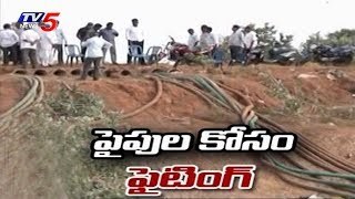 TDP Vs YCP | Water Supply Pipes Theft Issue in Rangampeta, East Godavari