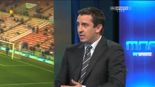 Jamie Carragher and Gary Neville on Luis Suarez this season