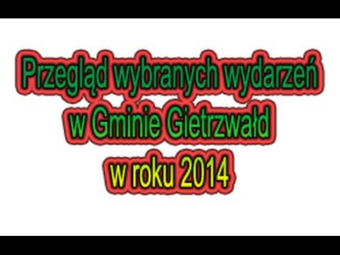 Gmina Gietrzwałd - Wydarzenia 2014