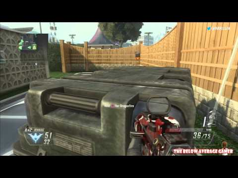 Black Ops 2 PS3 Arms Race - Playing Out of My Mind!!!!!