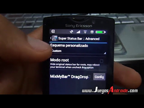 Personalizacin extrema Barra de notificaciones android