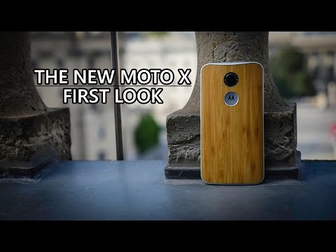 The New Moto X First Look!