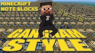Minecraft Note Blocks_ PSY - Gangnam Style ()