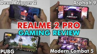 Realme 2 Pro Gaming Review - 5 High Graphics Games Tested - Full Gaming Review