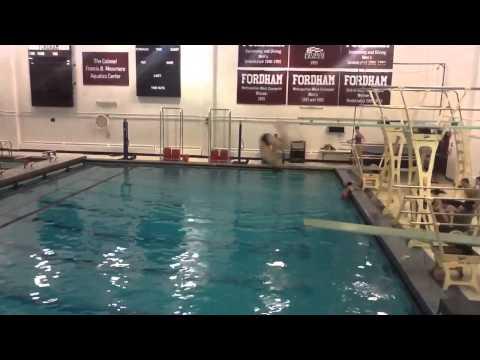 Billy Foxx Pelham Memorial High School Diving Video