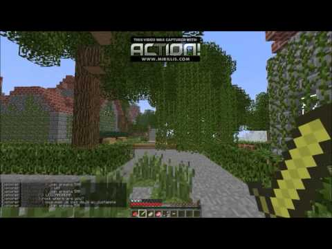 Minecraft Test with Action! Screen Recorder