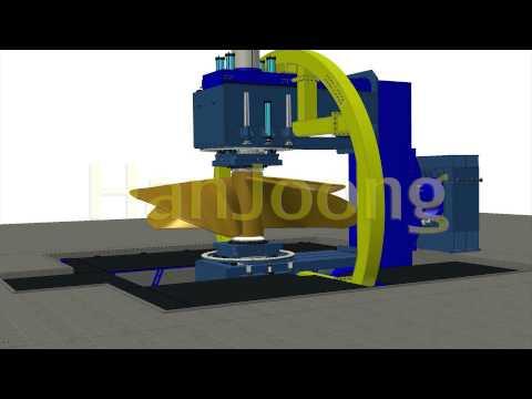 PROPELLER TURN OVER / SHIPYARD / SHIPBUILDING / AUTOMATION /  HanJoong