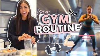 GYM ROUTINE: My Workout Structure, Food, Essentials, & More!
