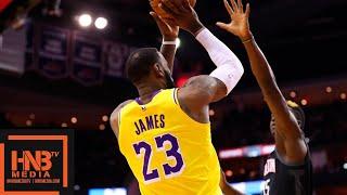 Los Angeles Lakers vs Houston Rockets 1st Qtr Highlights | 12.13.2018, NBA Season