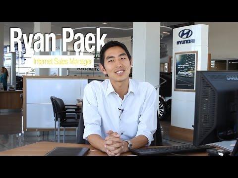 Ryan Paek | Internet Sales Manager at Capitol Hyundai