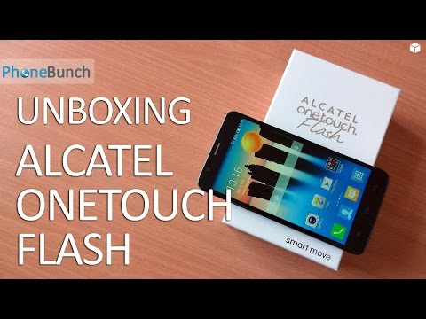Alcatel Onetouch Flash Unboxing & Hands-on Overview