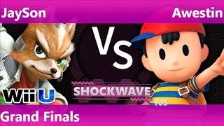 SW 105 - SWG   JaySon (Fox) vs SS   Awestin (Ness) Grand Finals - Smash 4