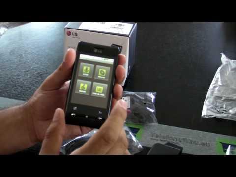 LG GT540 Swift Review HD ( in Romana ) - www.TelefonulTau.eu -