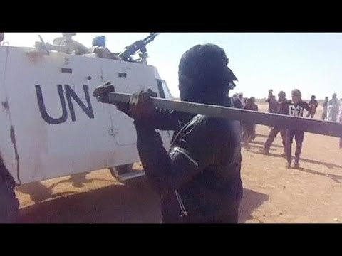 Hundreds in Mali protest over UN air-strikes - no comment