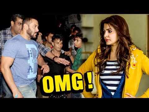 OMG! Anushka Sharma Slaps Salman Khan?