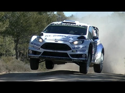 Test M-Sport Ott Tanak | Ford Fiesta WRC | pre Rally Mexico by Jaume Soler
