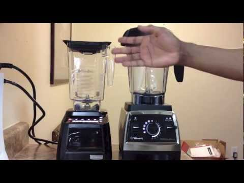 Vitamix Professional Series 750 vs. Blendtec Designer Series, SHOWDOWN!