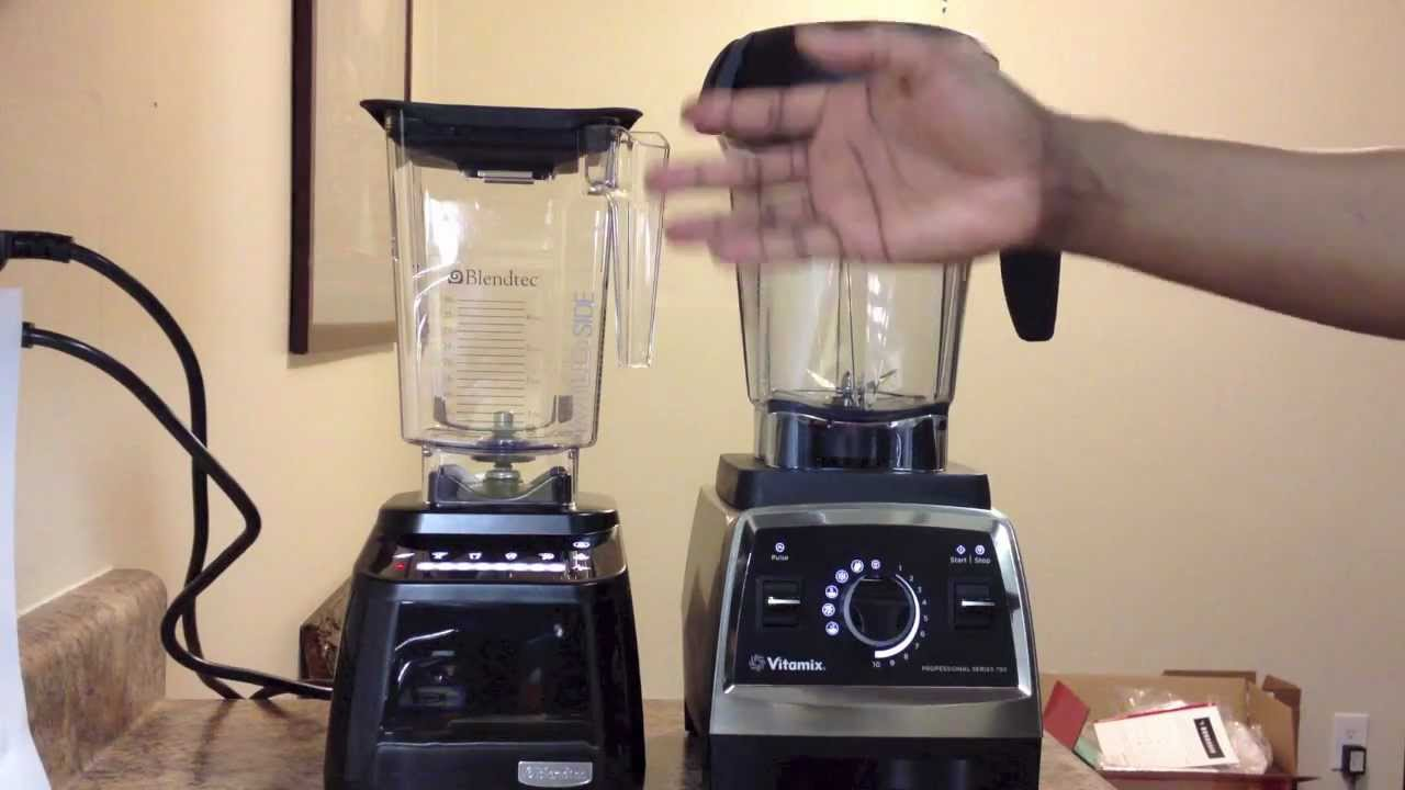 Vitamix Professional Series 750 Vs Blendtec Designer