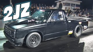 This S10 is UNREAL...2JZ NO SH*T!