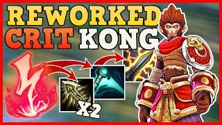 WUKONG CLONE CAN CRIT!! | REWORKED CRITKONG CAN EVEN SOLO BARON!!