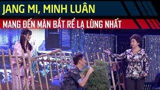 Jang Mi - Minh Luân khuấy động sân khấu với màn 'bắt rể' lạ lùng   Cặp Đôi Vàng Tập 6