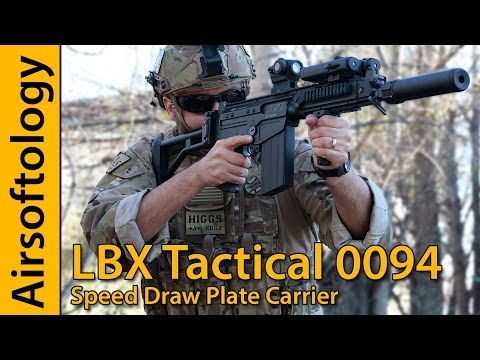 Affordably Awesome Armor? | LBX Tactical 0094 Speed Draw Plate Carrier Review | Airsoftology