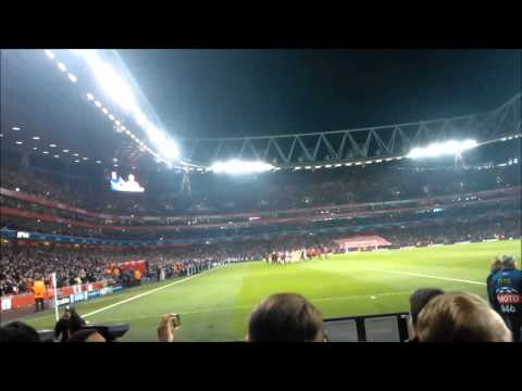 Arsenal v Bayern Munich 1-3 - THE FANS VIEW