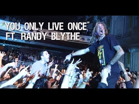 Suicide Silence - You Only Live Once (ft. Randy Blythe - Lamb Of God) video