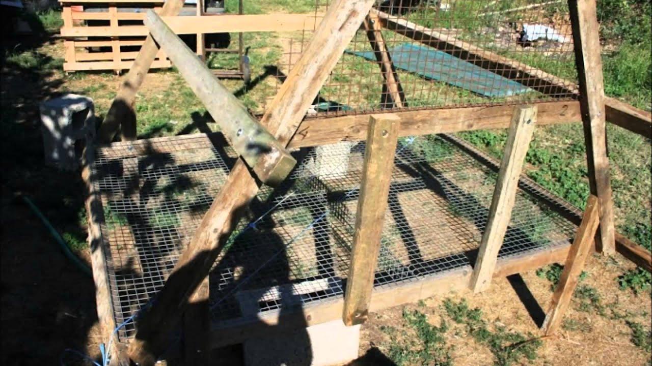Come costruire un pollaio ad arca mobile for Costruire un ranch