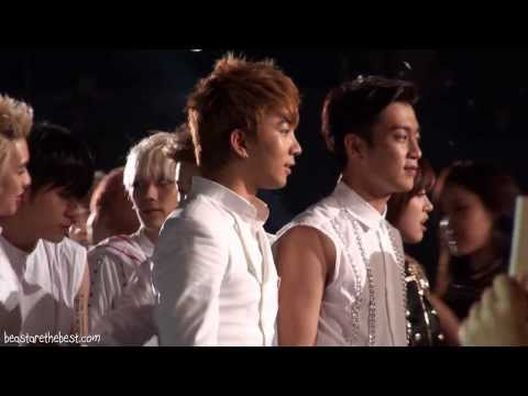 [fancam] Beast 130901 - Mbleast Ending (incheon Korean Music Wave 2013) video