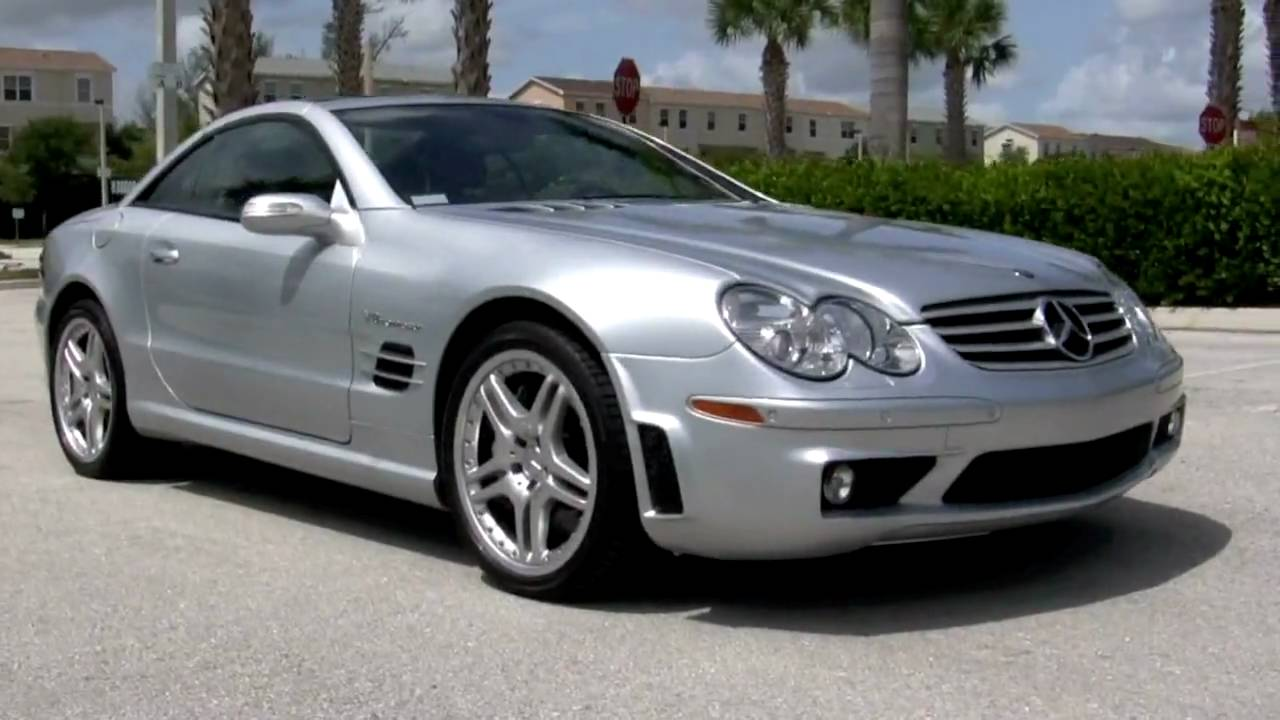 2018 Mercedes C300 Price >> 2006 Mercedes Benz SL55 AMG Silver A2342 - YouTube
