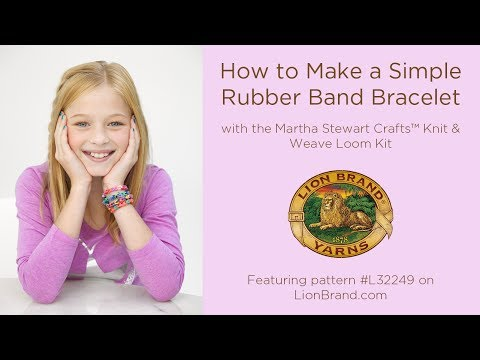 waterfall loom band instructions