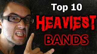 Download Lagu Top 10 HEAVIEST Bands! Gratis STAFABAND