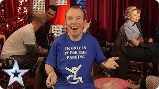 Quickfire Questions with Lost Voice Guy   BGT 2018
