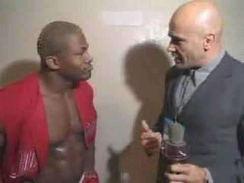 Bas Rutten and Kevin Randleman Clash Video
