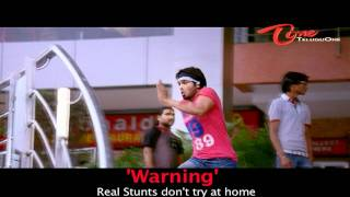 Mr. Nokia - Mr. Nokia Movie - Manchu Manoj's Real Stunts - Jump into a First Floor