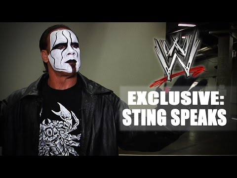 Sting discusses his current relationship with WWE