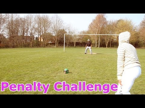 Penalty Challenge With My Dad