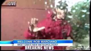 Meteorologist Rob Marciano Makes 'GMA' Debut