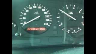 bmw 520 touring e34 0-100 acceleration