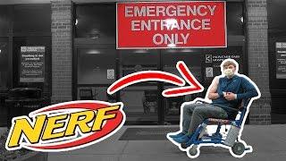 Most Dangerous Nerf Mod Ever! (Hospitalized)