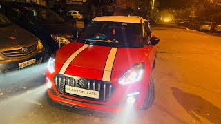 Modified Maruti Swift From Jodhpur | Swift Projector Headlights | Swift Audio Upgraded | Musafiraka