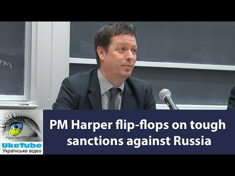 Canada flip-flops on sanctions against Russia, Doug Saunders