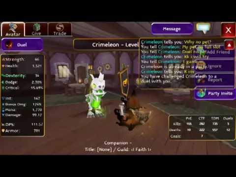 Arcane Legends Pvp lv 7 Aors vs Crimeleon