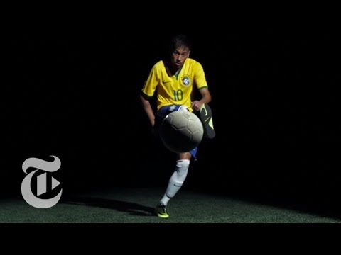 World Cup 2014: Neymar da Silva Santos Jr. Skills in Superslow Motion | The New York Times