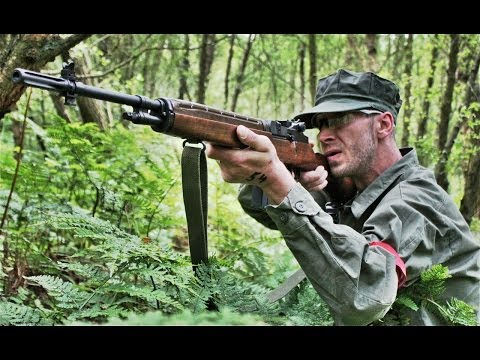 Airsoft War M14, G36, Dragunov Sniper THE FORT, SCOTLAND HD