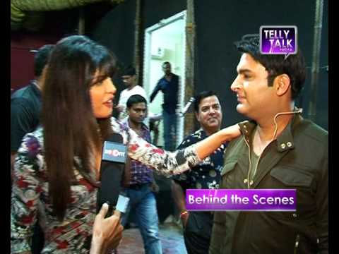Leaked | Priyanka Chopra On The Sets Of Comedy Nights With Kapil video
